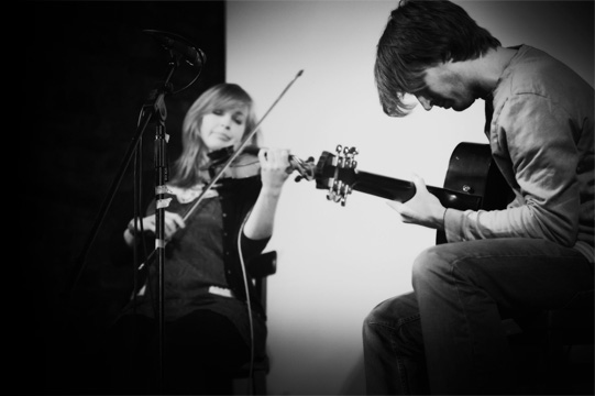 picture of Kate Moran and David Boultbee, Mouse's Nest Ceilidh Band